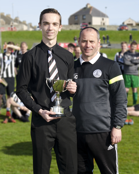 Ian Ross Youth Player of the Year 2015